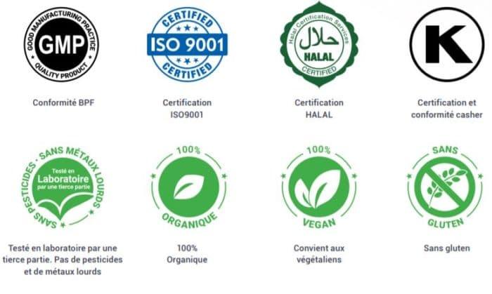 certifications sativida